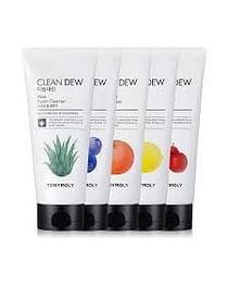 Пенка для очищения кожи лица TONYMOLY Clean Dew Foam Cleanser, 180мл. - Ацерола