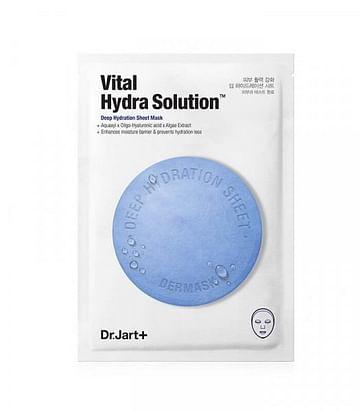 Тканевая маска для интенсивного увлажнения Dr. Jart+ Vital Hydra Solution, 25гр.