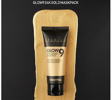 Золотая маска-пленка MEDI-PEEL Glow 9 24K Gold Mask Pack, 100мл.