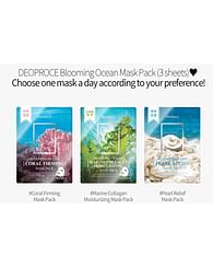Тканевая маска Deoproce Blooming Ocean Mask Pack, 25гр.