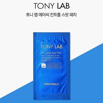 Наклейки от воспалений TONYMOLY Tony Lab AC Control Spot Patch, 1*12спот