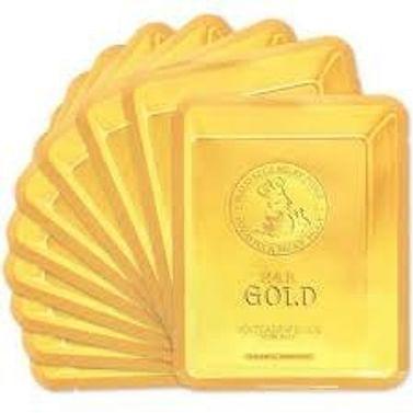Омолаживающая тканевая маска с экстрактом улитки и коллоидным золотом Elizavecca 24k Gold Water Dual Snail Mask Pack, 25гр.