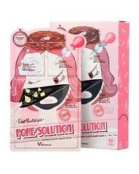 Трехступенчатая маска для сужения пор Elizavecca Pore Solution Super Elastic Mask, 1шт. (25мл.)
