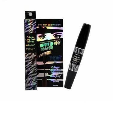 Удлиняющая водостойкая тушь с коллагеном 3W CLINIC Collagen Long Lash Mascara, 10мл.