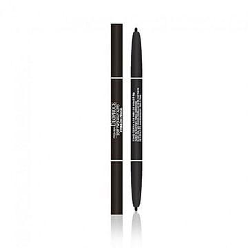 Автоматический двухсторонний карандаш для век и бровей Deoproce soft two-way auto eyebrow pencil