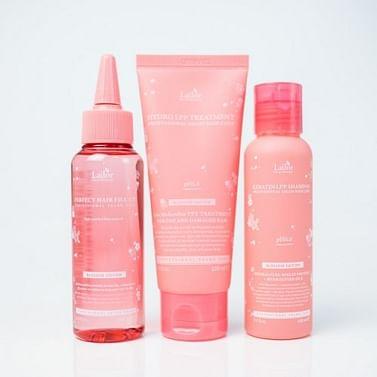 Весенний набор восстанавливающих средств для волос La'dor Blossom Edition, набор