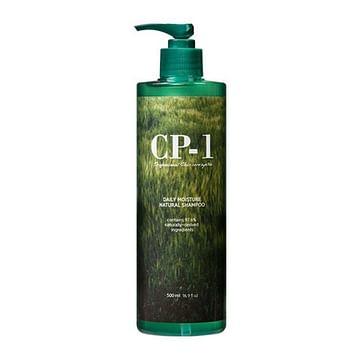 Натуральный шампунь с протеинами и зеленым чаем CP-1 ESTHETIC HOUSE Daily Moisture Natural Shampoo, 500мл.