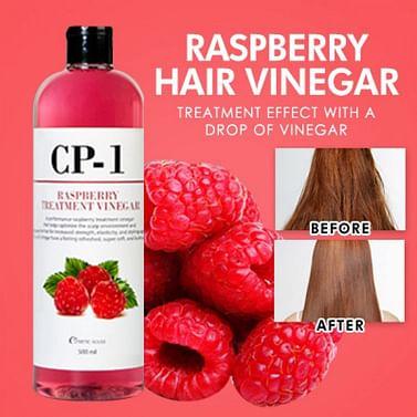 Кондиционер-ополаскиватель для волос на основе малинового уксуса CP-1 ESTHETIC HOUSE Raspberry Treatment Vinegar, 500мл.