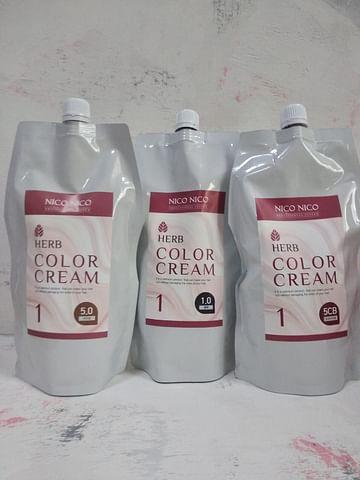 Краска для волос AOMI NICO NOCI Herb Color Cream, 500мл.+500мл.