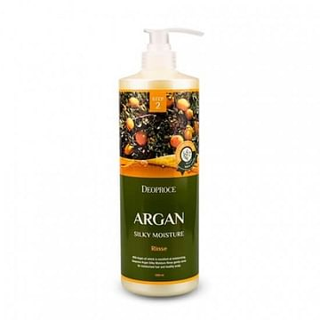 Шампунь / Бальзам для волос с аргановым маслом Deoproce Argan Silky Moisture, 1000мл.