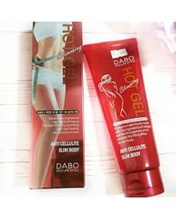 Антицеллюлитный гель для тела DABO Slimming Hot Gel, 200гр.