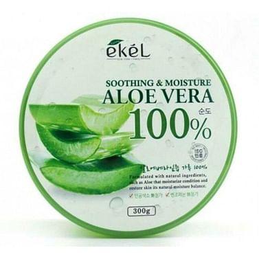 Универсальный гель с алоэ Ekel Aloe Vera Soothing & Moisture Gel, 300гр.
