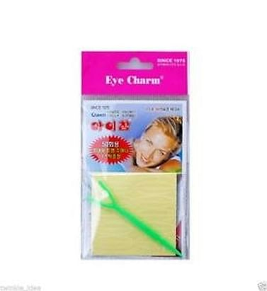 Односторонние наклейки для век Eye Charm / Green Eye, 50 пар.