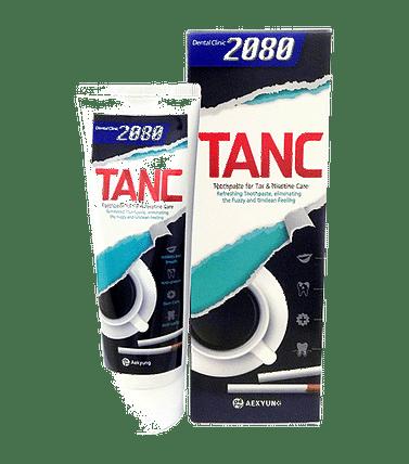 Отбеливающая зубная паста 2080 ТАНК AEKYUNG Toothpaste Tar&Nicotine Care 2080 TANC, 100гр.