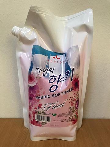 Кондиционер для белья KORCOS Floral Fabric Softener, 1,3л.