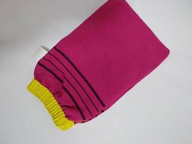 Варежка-скраб с резинкой