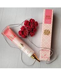 Осветляющий крем для век с экстрактом розы 3W CLINIC Rose Eye Cream,