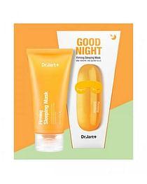 Подтягивающая ночная маска для упругости и эластичности кожи Dr. Jart+ Good Night Dermask Intra Jet Firming Sleeping Mask, 120мл.