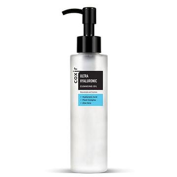 Гидрофильное масло с гиалуроновой кислотой coxir Ultra Hyaluronic Cleansing Oil, 150мл.