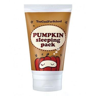 Энзимная ночная маска с тыквой и керамидами Too Cool For School Pumpkin Sleeping Pack, 30мл./2мл.
