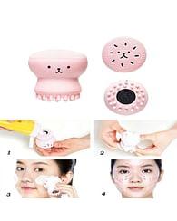 Щеточка силиконовая для очистки пор и массажа лица Etude House My Beauty Tool Exfoliating Jellyfish Silicon Brush, 1шт.