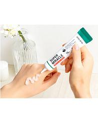 Точечный крем против акне с AHA и BHA кислотами SOME BY MI Super Miracle Spot All Kill Cream, 30мл.