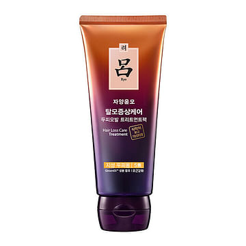 Маска от выпадения волос с женьшенем Ryo Root Strength Treatment Hair Loss Treatment, 200мл.