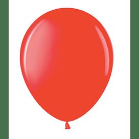 """Латексный шар с гелием """"Красный"""" (12''/30 см)"""