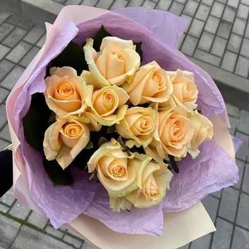 "Букет "" Тоскана "" 11 роз"