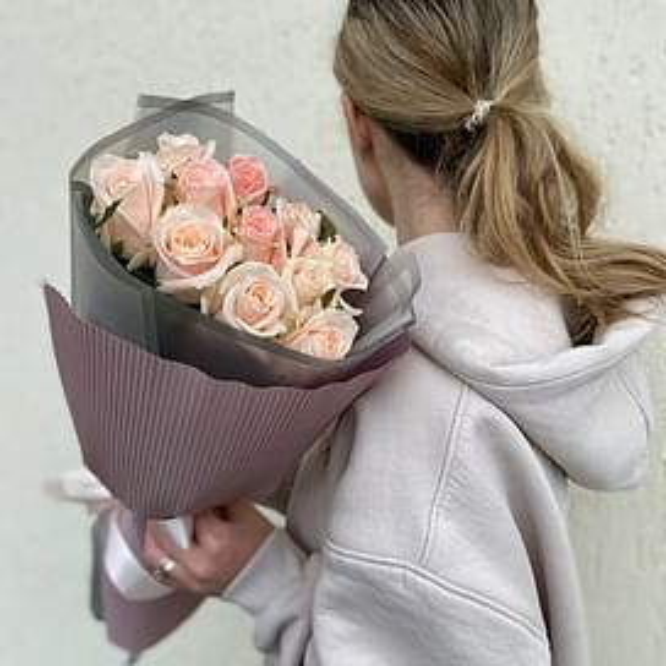 "Букет роз "" Альба"""