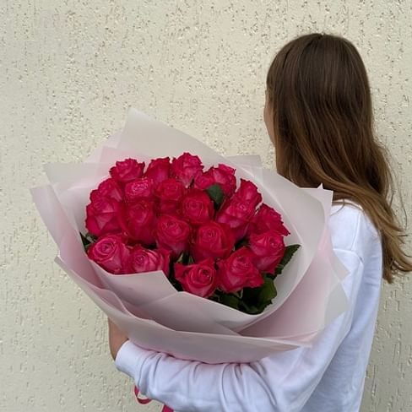 """Букет роз """" РИО"""" 21 роза"""