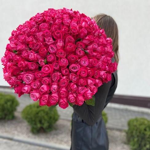 """Букет роз """" ГРАНД"""" 151 роза"""