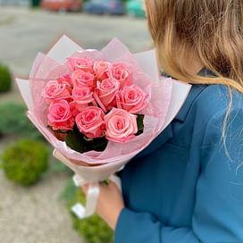 "Букет "" Диор"" 11 роз"