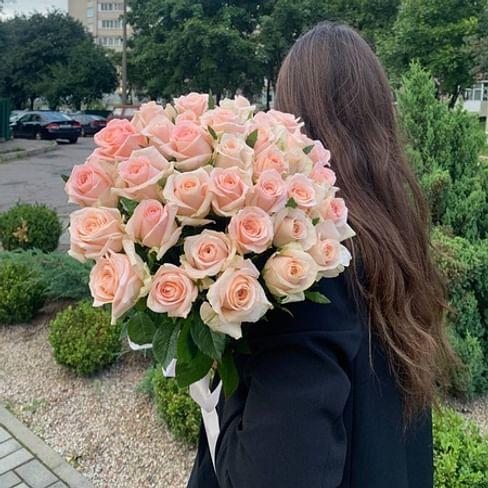 """Букет роз """" Ульяна """" 35 роз"""