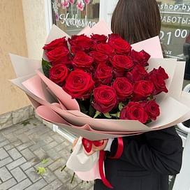 """Букет роз """"Особый случай"""" 25 роз"""