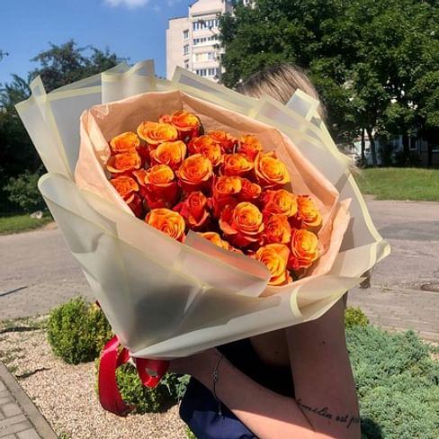 "Букет роз ""Необыкновенная"" 25 роз"