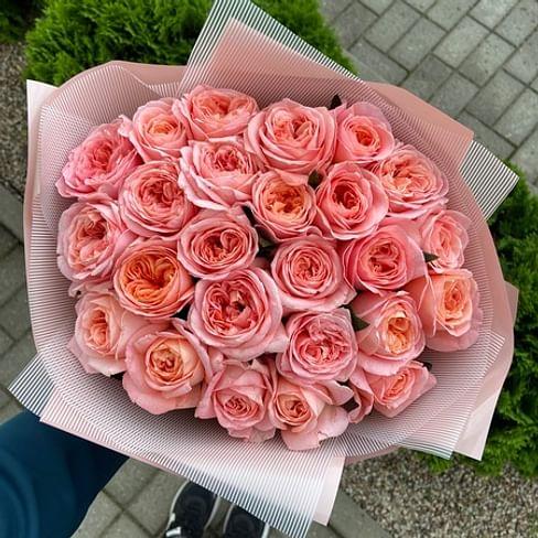 """Букет роз """"Люблю тебя"""" 25 роз"""