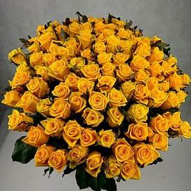 """Букет роз """"Лето"""" 101 роза"""