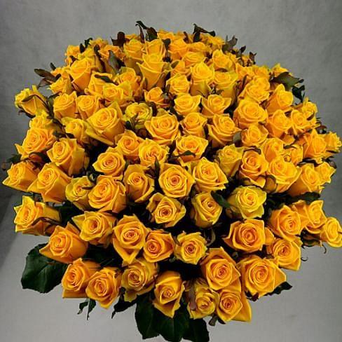 "Букет роз ""Лето в городе"" 101 роза"