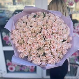 """Букет роз """"Счастье внутри"""" 101 роза"""