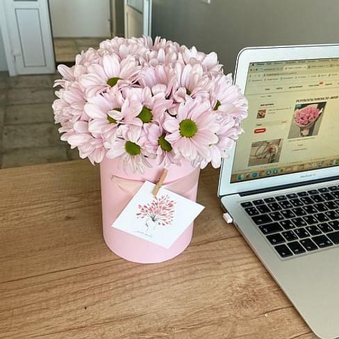 """Цветы в коробке """"Чудесный день"""""""