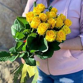 """Букет роз """"Цыпа"""" 15 роз"""