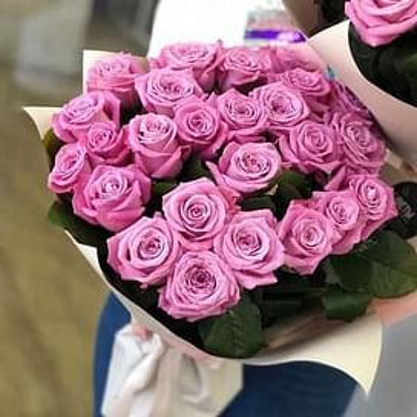 "Букет роз ""Закат"" 25 роз"