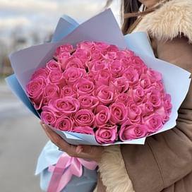 """Букет роз """"Летний"""" 51 роза"""