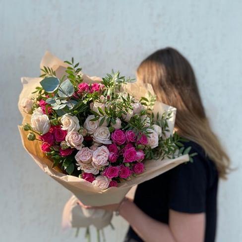 "Букет кустовых роз "" Сицилия"" 15 роз"