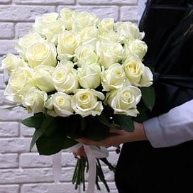 """Букет роз """"На облаках"""" 25 роз"""