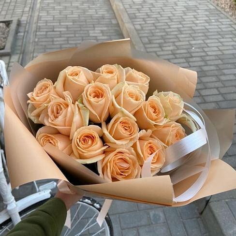 """Букет роз """"Подарок"""" 15 роз"""