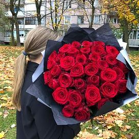 """Букет роз """"Моя дорогая"""" 35 роз"""