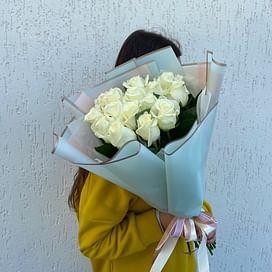 """Букет роз """"Присцилла"""" 15 роз"""
