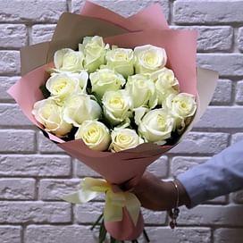 """Букет роз """"Глория"""" 15 роз"""